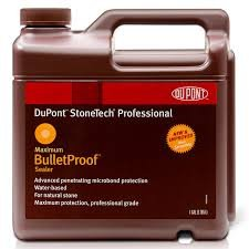 Dupont Stonetech Bulletproof Sealer for Marble & Granite Flooring - Made In USA  ( 1 Quart packing)